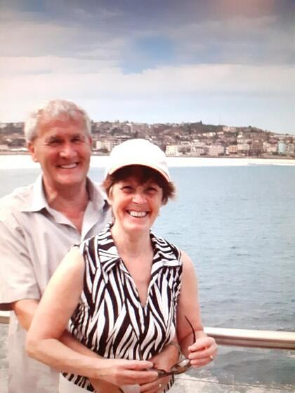 More than a Carer - 3rd Edition Malcolm and Margaret on holiday